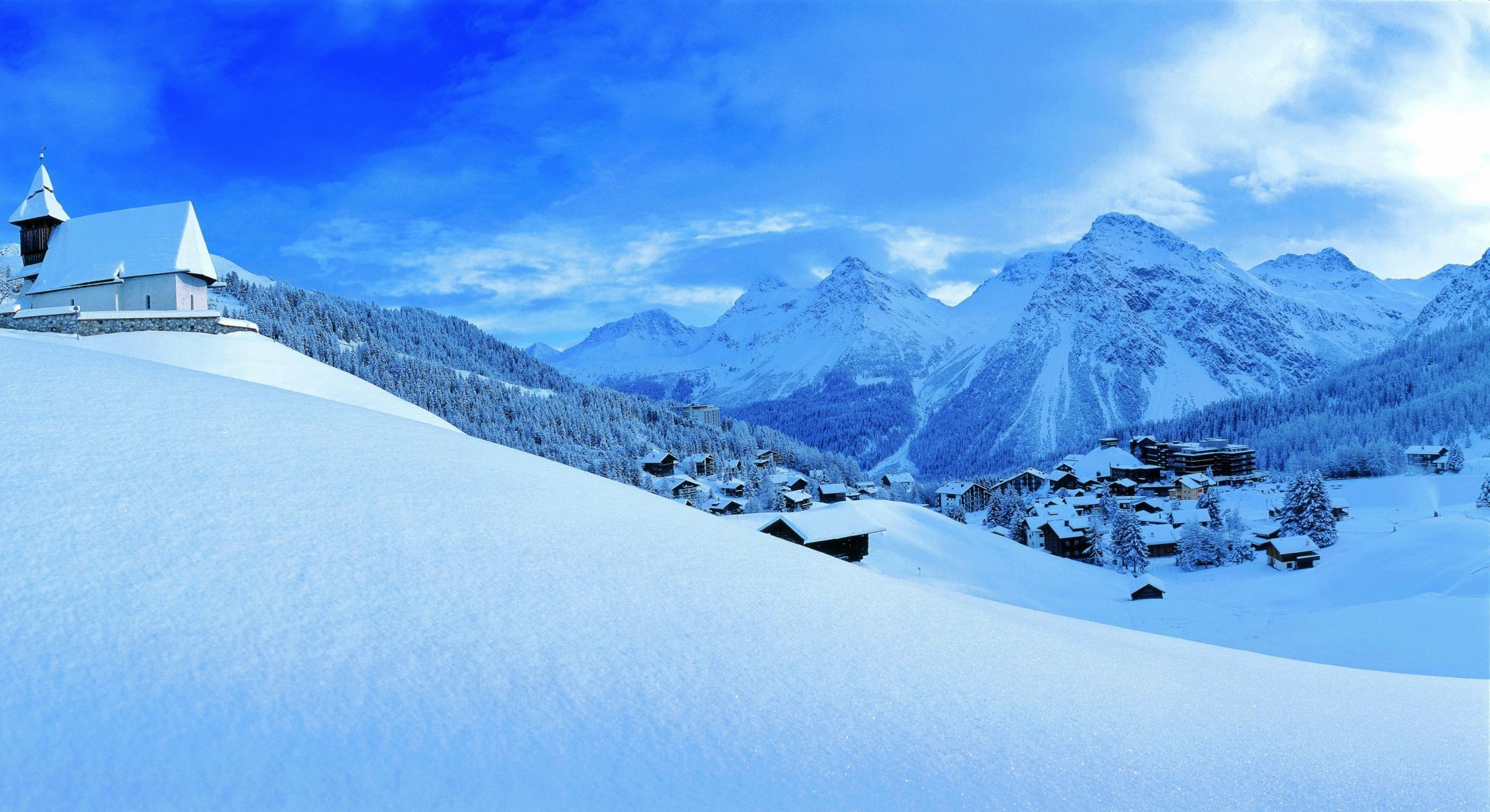 All Mountain: Arosa - Weisshorn - Molinis - Triemel - Strassberg -